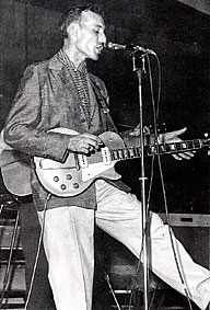 Carl Perkins' 52/53 Gibson Les Paul