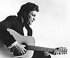 Johnny Cash with the Martin D-35